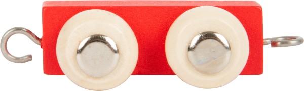Buchstabenzug BUNT Verbindungsstück rot
