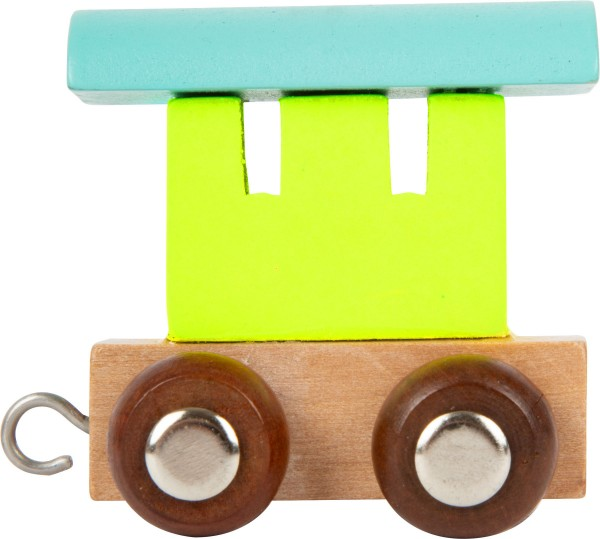 Buchstabenzug Endwaggon pastell