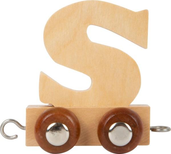 Buchstabenzug - S