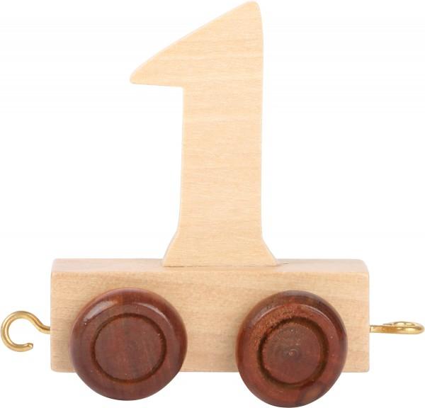 Buchstabenzug Zahl 1