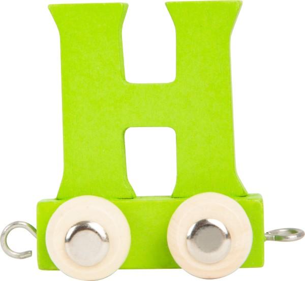 Buchstabenzug BUNT - H