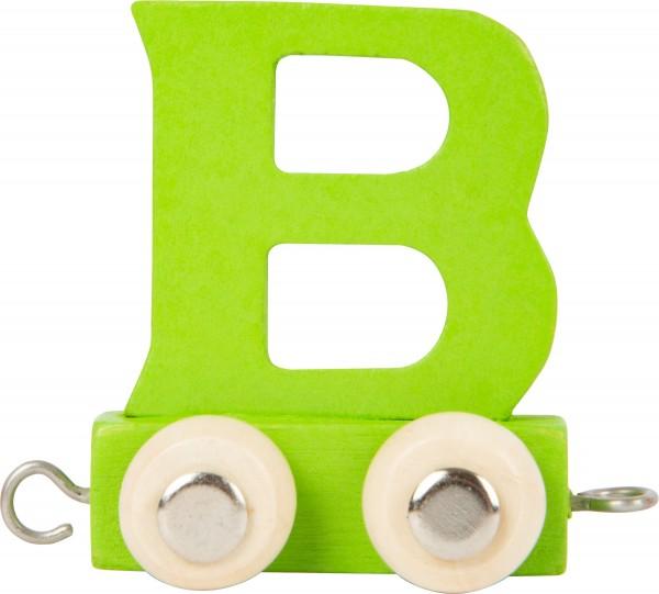 Buchstabenzug BUNT - B