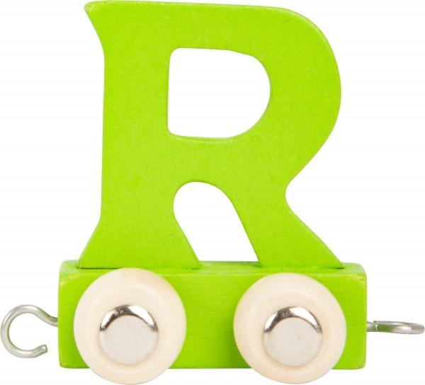 Buchstabenzug BUNT - R