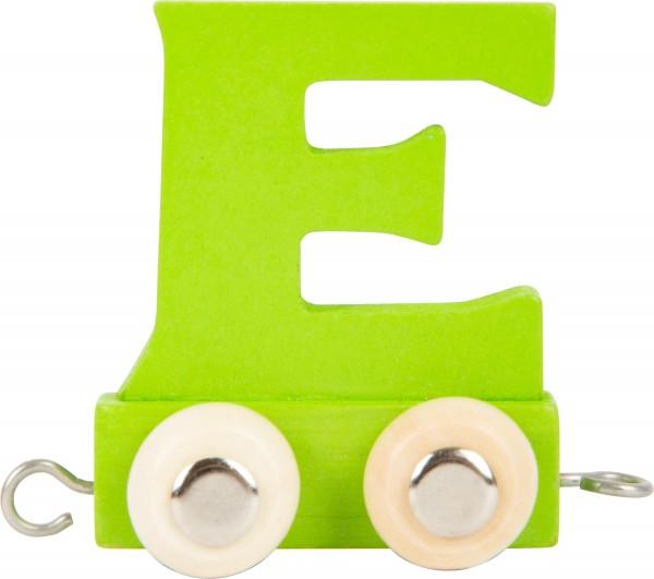 Buchstabenzug BUNT - E