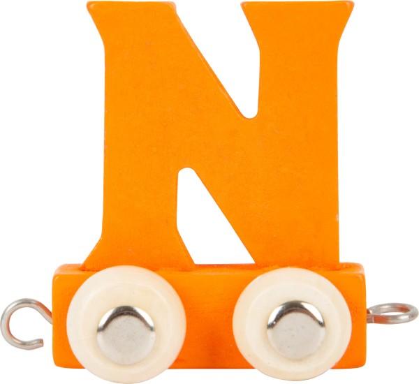 Buchstabenzug BUNT - N