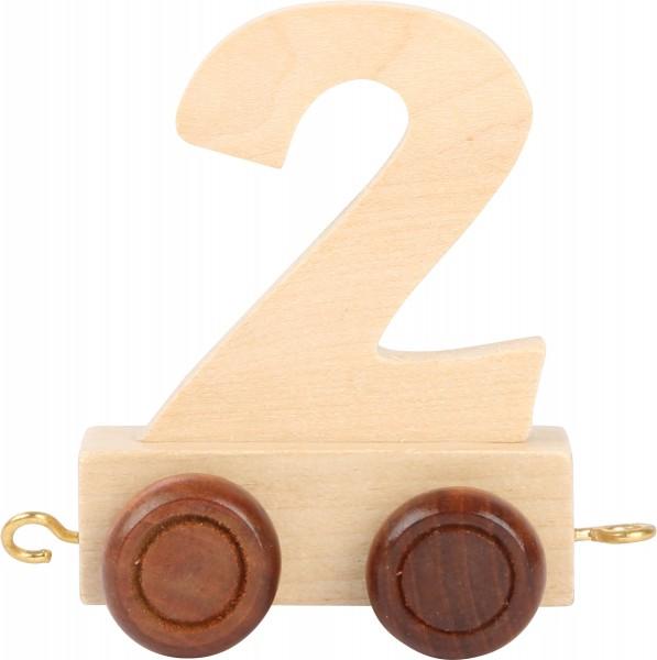 Buchstabenzug Zahl 2