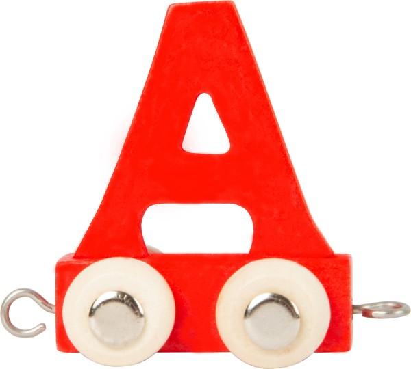 Buchstabenzug BUNT - A rot
