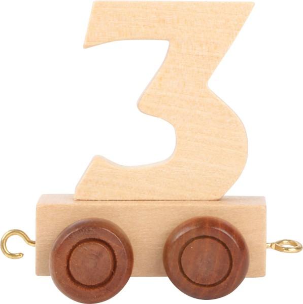 Buchstabenzug Zahl 3