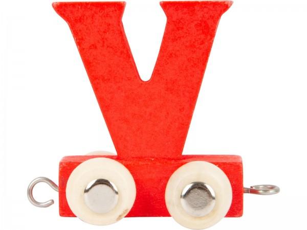 Buchstabenzug BUNT - V